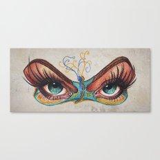 Butterflies eyes Canvas Print