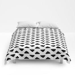 Pointy corners Comforters