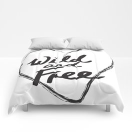 Wild and Free - Natural Born Lovers Comforters