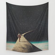 We Chose This Road My Dear Wall Tapestry