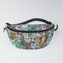 Gemstone Cats Fanny Pack