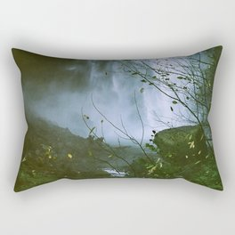 Waterfalls. Flowers. Nature. Rectangular Pillow