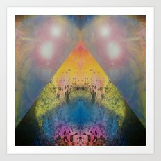 FX#401 - Cosmic Pyramid Art Print