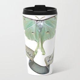 Actias Luna Metal Travel Mug