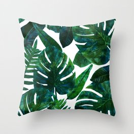 Perceptive Dream || #society6 #tropical #buyart Throw Pillow