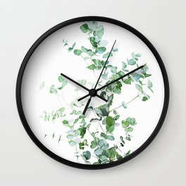 Botanical Wall Clock