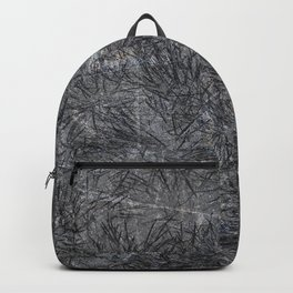 Black Cement and Grass Backpack