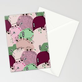 Four wheels purple #homedecor Stationery Cards