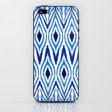 Ikat Blue iPhone & iPod Skin