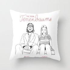 The Royal Tenenbaums (Richie and Margot) Throw Pillow