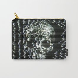 Analogue Glitch Jawless Skull Carry-All Pouch