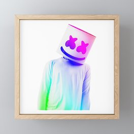 Marshmellow Colors Framed Mini Art Print