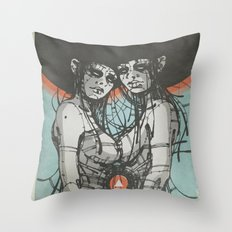 Nymphs (Ext) Throw Pillow