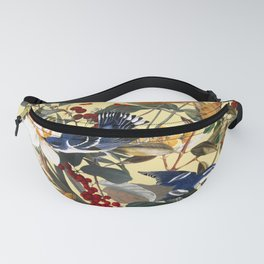 Floral and Birds XXIX Fanny Pack