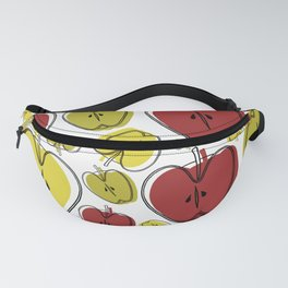 Seamless Apple Surface Pattern Design Fanny Pack