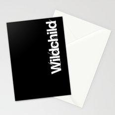 Wildchild_black Stationery Cards