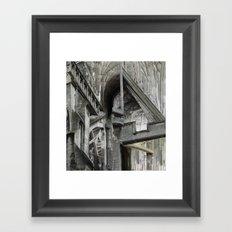 English Gothic Framed Art Print