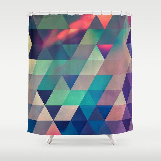 nyyt stryyt Shower Curtain