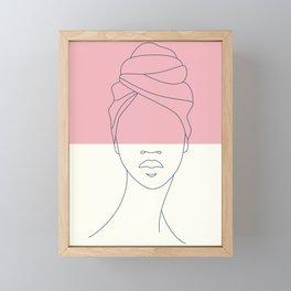 Brooklynn Framed Mini Art Print