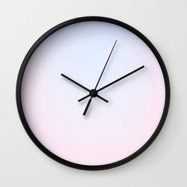 SOFT PALE - Plain Color Iphone Case Wall Clock