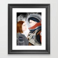 Don't Tell Anyone I Liked It Framed Art Print