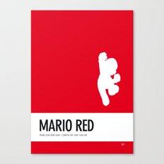 No33 My Minimal Color Code poster Mario Canvas Print