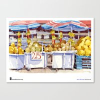 "Shari Blaukopf, ""Two For Five"" Canvas Print"
