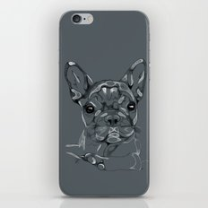 Sketchy Frenchie iPhone & iPod Skin