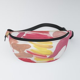 41   | 190408 Red Abstract Watercolour Fanny Pack