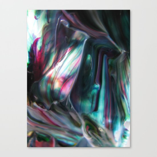 Morpho adularia Canvas Print