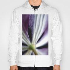 Clematis Flower Stem Hoody
