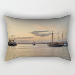 Towards open water Rectangular Pillow