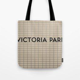 VICTORIA PARK | Subway Station Tote Bag