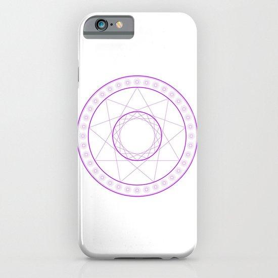 Anime Magic Circle 7 iPhone & iPod Case