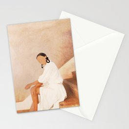 Lady in Waiting Stationery Cards