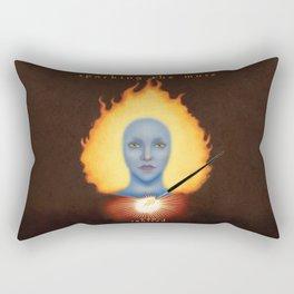 Sparking The Muse Logo Rectangular Pillow