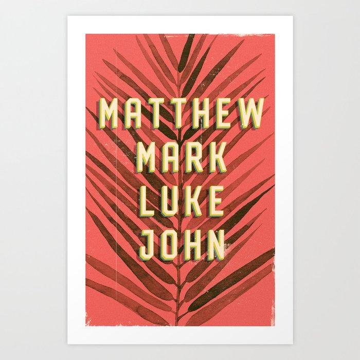 The Gospels According To Art Print