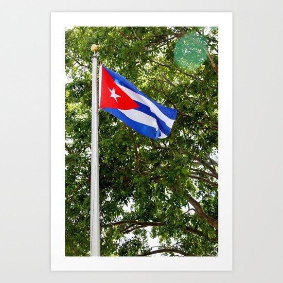 La Bandera Art Print