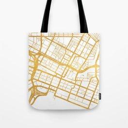PERTH AUSTRALIA CITY STREET MAP ART Tote Bag