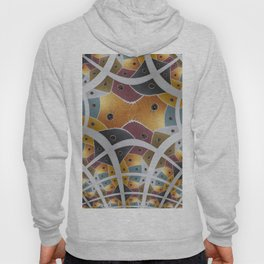 """Fractal of the Painting """" Seven Areas """" Hoody"""