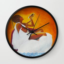 Orisha Oshun Wall Clock