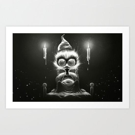 Hu! Art Print
