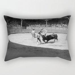 Torero black white Rectangular Pillow