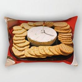 Cheese and Crackers Rectangular Pillow