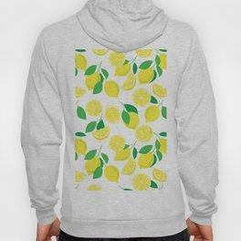Lemons, tropical pattern Hoody