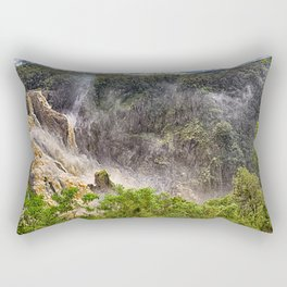 Thunderous beauty of Barron Falls Rectangular Pillow