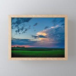 Montana Sunset Framed Mini Art Print