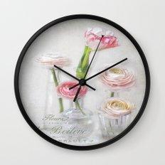 4+1= spring Wall Clock