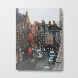 Golden Hour in Edinburgh Metal Print