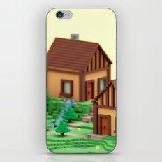 voxel hamlet iPhone & iPod Skin